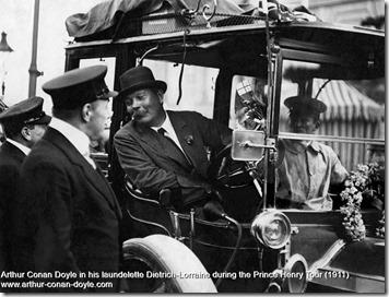 Arthur Conan Doyle race 1911
