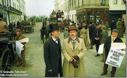 Holmes and Watson - Brett and Burke