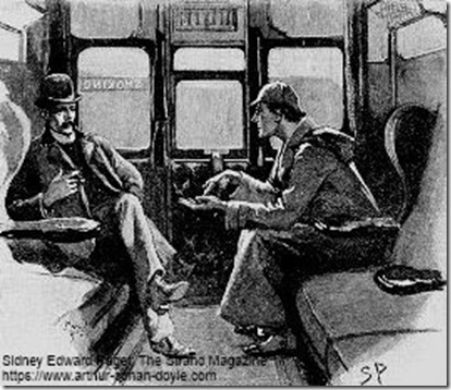 Holmes and Watson Sidney Paget illustration