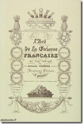 Cuisine Francaise - Careme