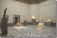 Sarah Lucas Good Muse at the Legion of Honor