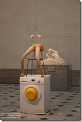 Sarah Lucas Washing Machine Fried Eggs
