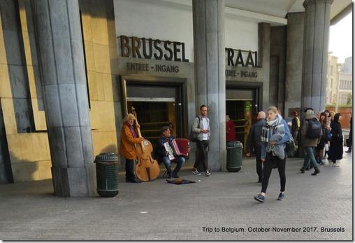Brussels street music
