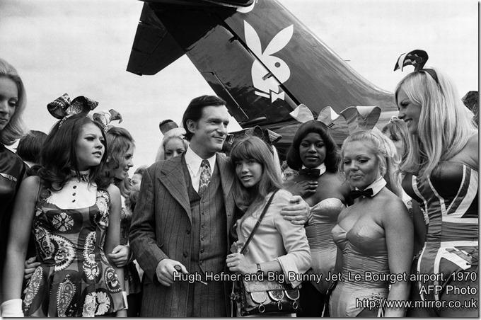 watermarked-Hugh Hefner-Bunny Plane-1970