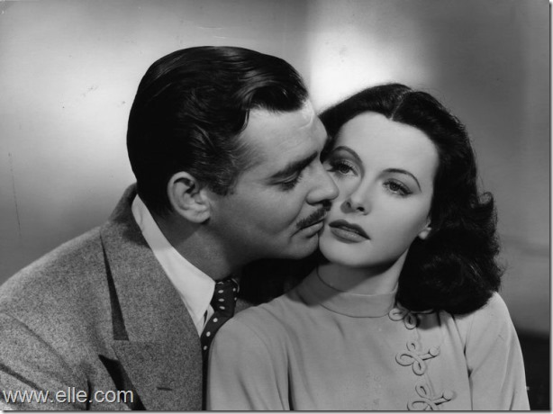 Hedy Lamarr and Clark Gable