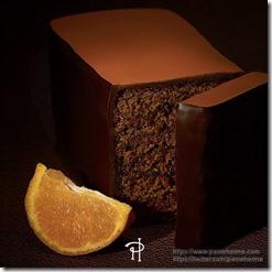 Pierre Herme Chocolate and Mandarine cake