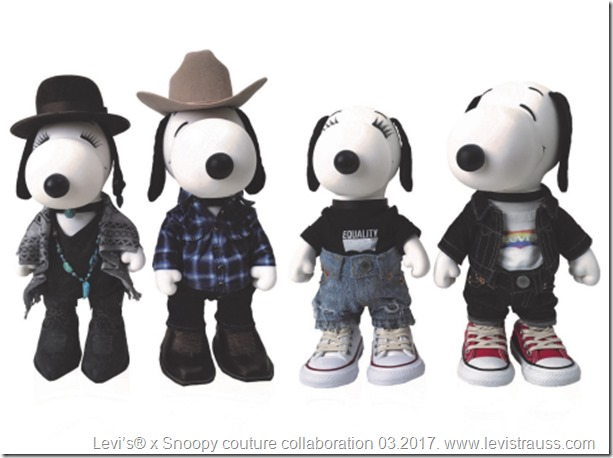 Snoopy in Levis-2017