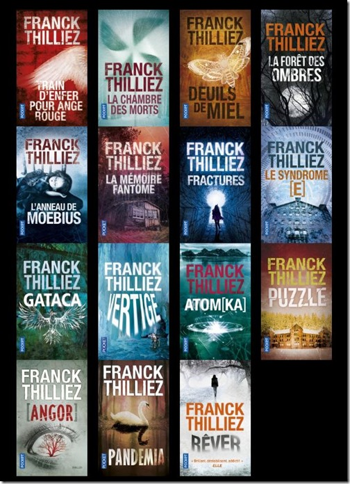 Frank Thilliez books