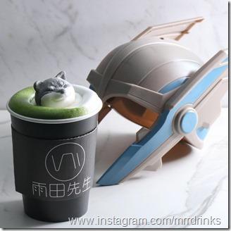 Shiba Inu latte art 3