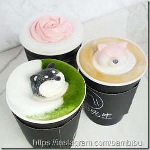 Shiba Inu latte art 8