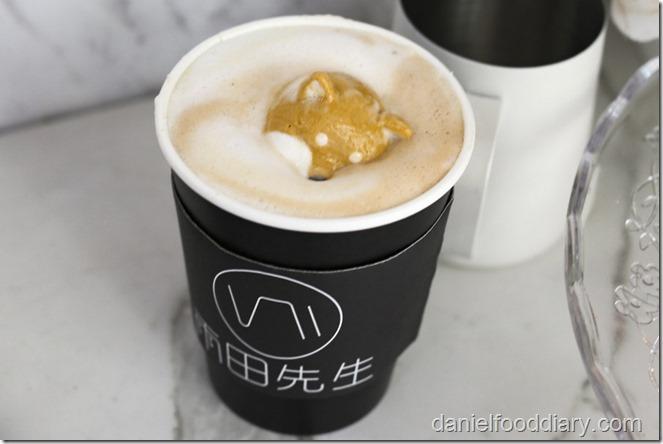 Shiba Inu latte art 9
