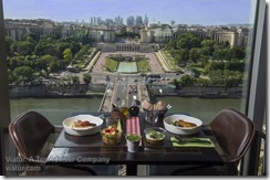 Eiffel Ttower lunch