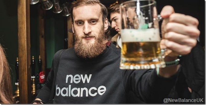 New Balance UK beer