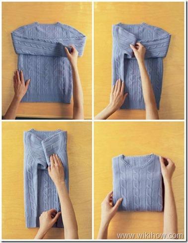 Fold Wool Sweater
