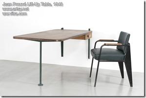 Jean Prouvé Lift-Up Table 1943