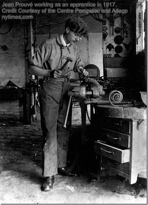 Jean Prouvé 1917