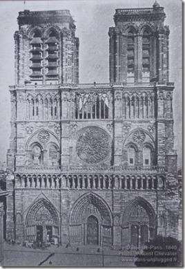 Notre-Dame-de-Paris 1840