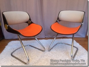 Etienne Fermigier Chairs 70s