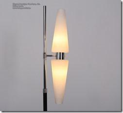 Etienne Fermigier Floor lamp Det, Monix 60s