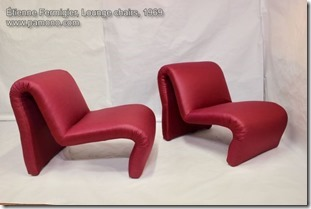 Etienne Fermigier, Lounge chairs 1969
