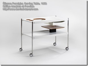 Etienne Fermigier Serving Table, 1968