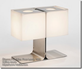Etienne Fermigier Table Lamp, 1965