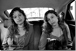Mike Harvey - Cab passenger portraits 1
