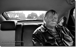 Mike Harvey - Cab passenger portraits 3