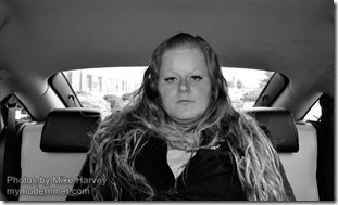 Mike Harvey - Cab passenger portraits 4
