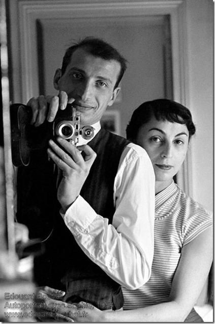 Edouard Boubat - Autoportrait avec Sophie