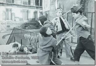 Edouard Boubat - Bataille d'enfants
