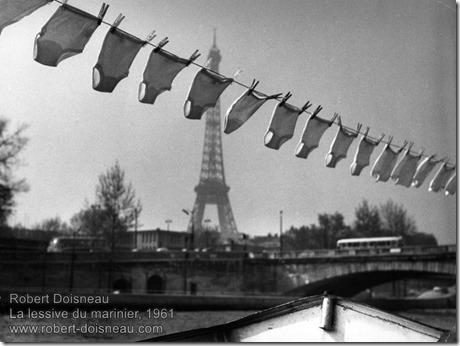 Robert Doisneau - La lessive du marinier