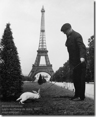 Robert Doisneau - Lapin au champ de mars, 1941