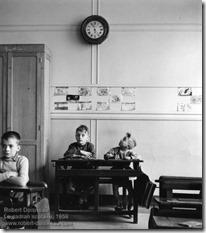 Robert Doisneau - Le cadran scolaire