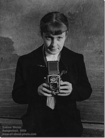 Sabine Weiss - autoportrait