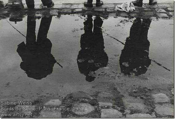 Sabine Weiss - Bords de Seine