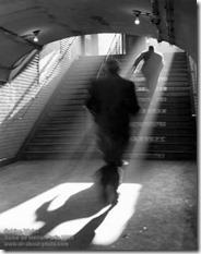 Sabine Weiss - Sortie de metro