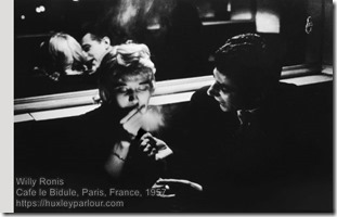 Willy Ronis - Cafe le Bidule
