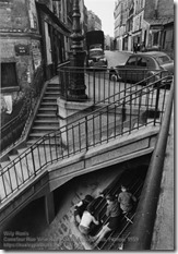 Willy Ronis - Carrefour Rue Villin