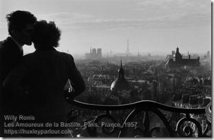 Willy Ronis - Les Amoureux de la Bastille