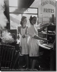 Willy Ronis - Marchands de frites