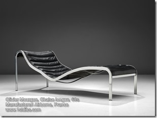 Olivier Mourgue, Chaise longue, 60s