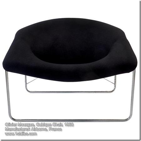 Olivier Mourgue, Cubique chair, 1968