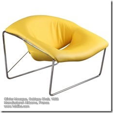 Olivier Mourgue Cubique chair, 1968
