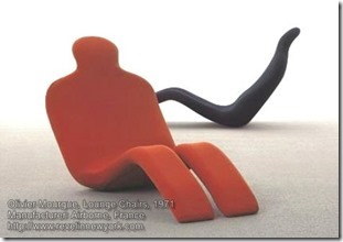 Olivier Mourgue, Lounge chairs, 1971