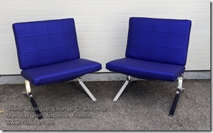 Olivier Mourgue, Lounge Chairs, 60s