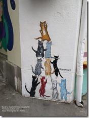 Mural. The Cone Culture, Tbilisi