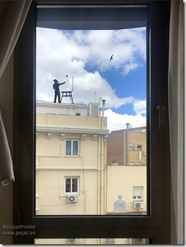 Pejac Window Art 2