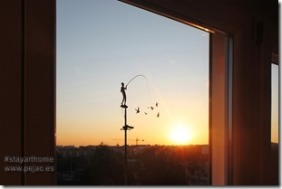 Pejac Window Art 5