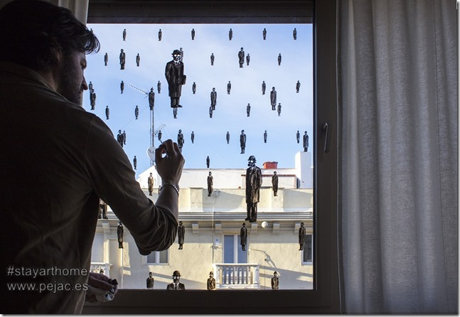 Pejac Window Art